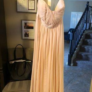 Jenny yoo Annabelle bridesmaid dress  blush